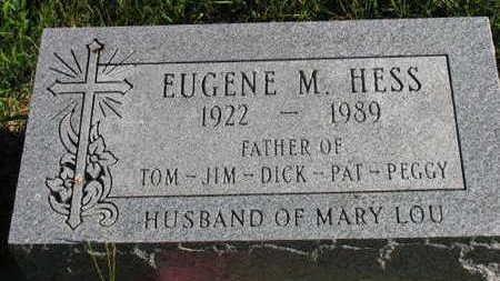 HESS, EUGENE M. - Linn County, Iowa | EUGENE M. HESS