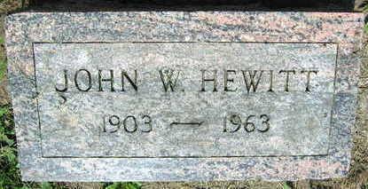 HEWITT, JOHN W. - Linn County, Iowa | JOHN W. HEWITT