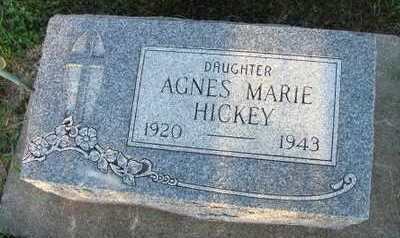 HICKEY, AGNES MARIE - Linn County, Iowa   AGNES MARIE HICKEY