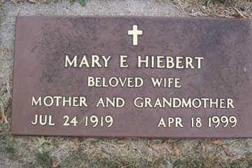 HIEBERT, MARY E. - Linn County, Iowa | MARY E. HIEBERT