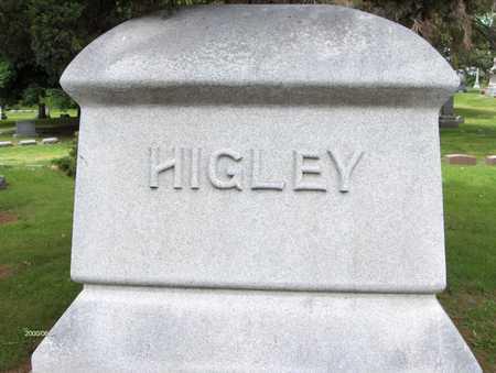 HIGLEY, FAMILY STONE - Linn County, Iowa | FAMILY STONE HIGLEY