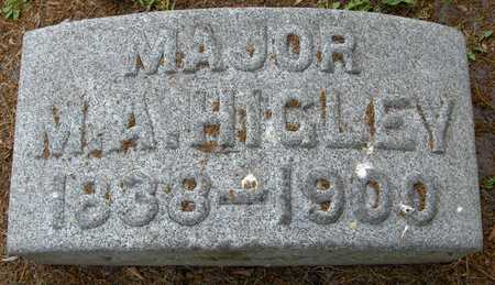 HIGLEY, MAJOR M.A. - Linn County, Iowa | MAJOR M.A. HIGLEY