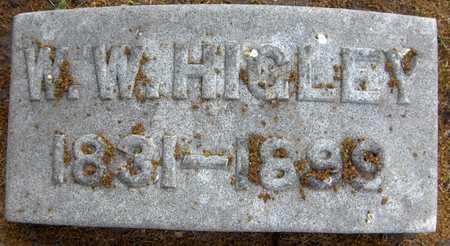 HIGLEY, W.W. - Linn County, Iowa   W.W. HIGLEY