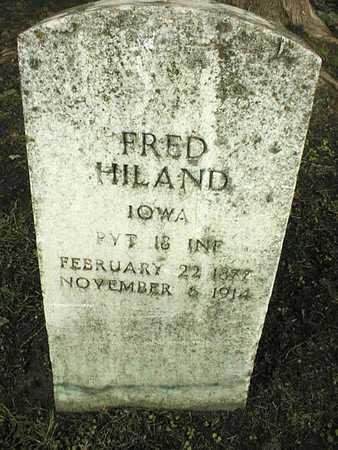 HILAND, FRED - Linn County, Iowa | FRED HILAND