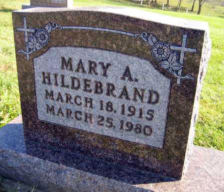 HILDEBRAND, MARY A. - Linn County, Iowa | MARY A. HILDEBRAND