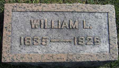 HILL, WILLIAM L. - Linn County, Iowa | WILLIAM L. HILL