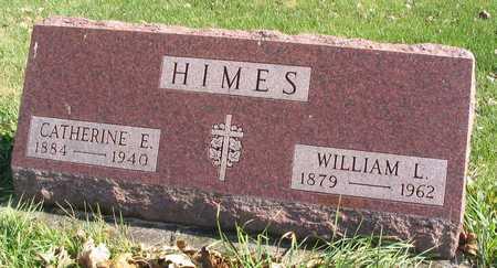 HIMES, CATHERINE E. - Linn County, Iowa   CATHERINE E. HIMES