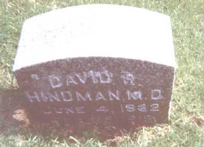 HINDMAN, DAVID R. - Linn County, Iowa | DAVID R. HINDMAN