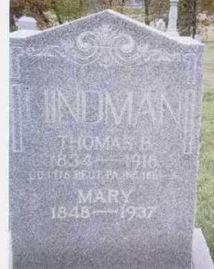 HINDMAN, MARY - Linn County, Iowa | MARY HINDMAN