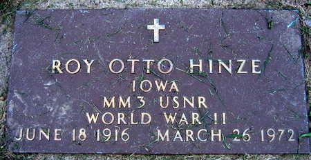 HINZE, ROY OTTO - Linn County, Iowa | ROY OTTO HINZE