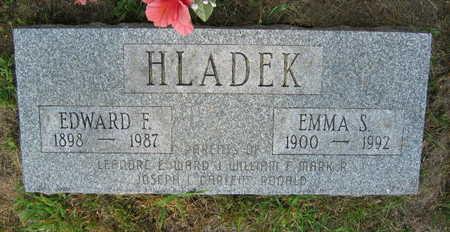 HLADEK, EMMA S. - Linn County, Iowa | EMMA S. HLADEK