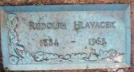 HLAVACEK, RUDOLPH - Linn County, Iowa | RUDOLPH HLAVACEK