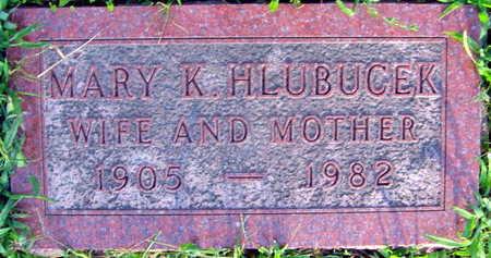 HLUBUCEK, MARY K. - Linn County, Iowa   MARY K. HLUBUCEK