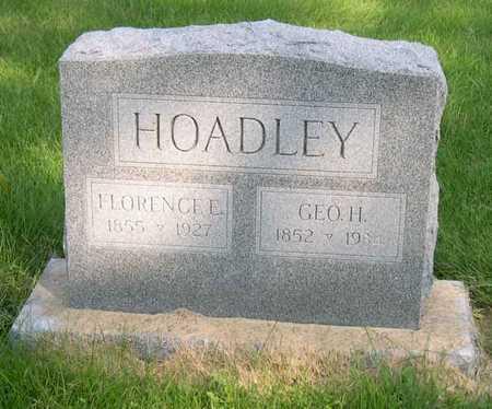 HOADLEY, GEO. H. - Linn County, Iowa | GEO. H. HOADLEY