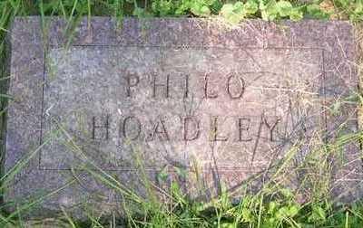 HOADLEY, PHILO - Linn County, Iowa | PHILO HOADLEY