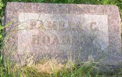 HOADLEY, PAMPLA C. - Linn County, Iowa | PAMPLA C. HOADLEY