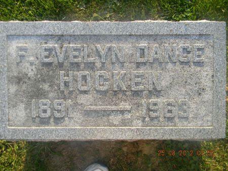 DANCE HOCKEN, F. EVELYN - Linn County, Iowa   F. EVELYN DANCE HOCKEN