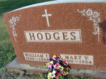 HODGES, MARY V. - Linn County, Iowa | MARY V. HODGES