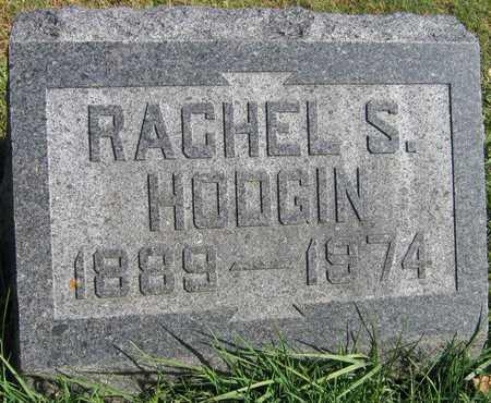 HODGIN, RACHEL S. - Linn County, Iowa   RACHEL S. HODGIN