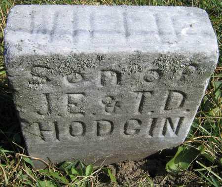 HODGIN, WILLIE - Linn County, Iowa | WILLIE HODGIN