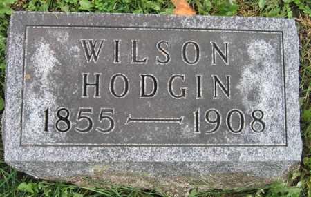 HODGIN, WILSON - Linn County, Iowa | WILSON HODGIN