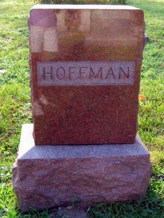 HOFFMAN, FAMILY STONE - Linn County, Iowa | FAMILY STONE HOFFMAN