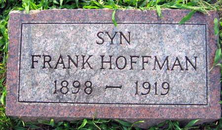 HOFFMAN, FRANK - Linn County, Iowa   FRANK HOFFMAN