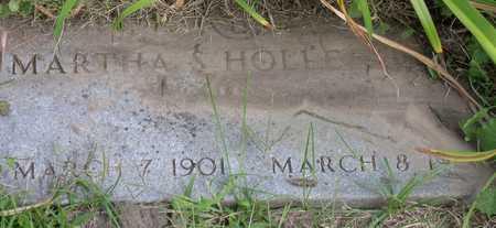 HOLDENHORS, MARTHA S. - Linn County, Iowa | MARTHA S. HOLDENHORS