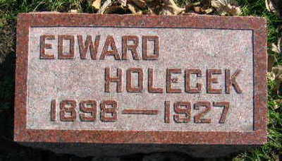 HOLECEK, EDWARD - Linn County, Iowa | EDWARD HOLECEK