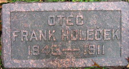 HOLECEK, FRANK - Linn County, Iowa   FRANK HOLECEK