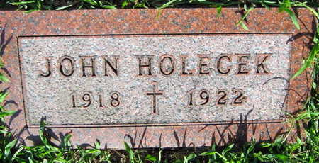 HOLECEK, JOHN - Linn County, Iowa | JOHN HOLECEK