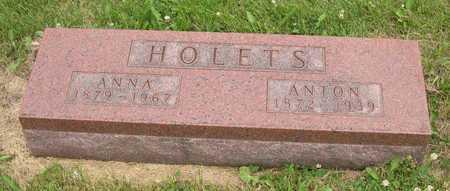 HOLETS, ANTON - Linn County, Iowa | ANTON HOLETS