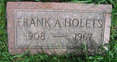 HOLETS, FRANK A. - Linn County, Iowa | FRANK A. HOLETS