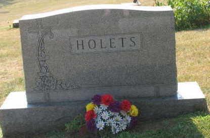 HOLETS, FAMILY STONE - Linn County, Iowa   FAMILY STONE HOLETS