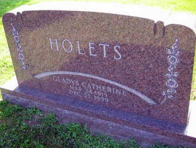 HOLETS, GLADYS CATHERINE - Linn County, Iowa | GLADYS CATHERINE HOLETS