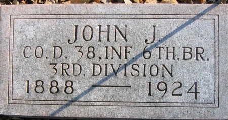 HOLETS, JOHN J - Linn County, Iowa | JOHN J HOLETS