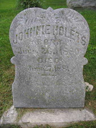 HOLETS, JOHNNIE - Linn County, Iowa   JOHNNIE HOLETS