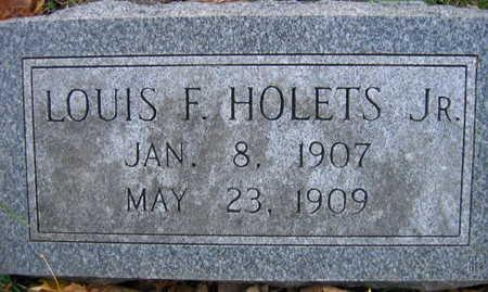 HOLETS, LOUIS F., JR. - Linn County, Iowa | LOUIS F., JR. HOLETS