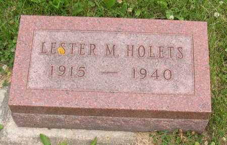 HOLETS, LESTER M. - Linn County, Iowa | LESTER M. HOLETS