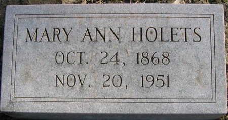 HOLETS, MARY ANN - Linn County, Iowa | MARY ANN HOLETS