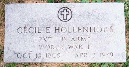 HOLLENHORS, CECIL E. - Linn County, Iowa | CECIL E. HOLLENHORS