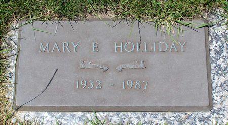 HOLLIDAY, MARY E. - Linn County, Iowa | MARY E. HOLLIDAY