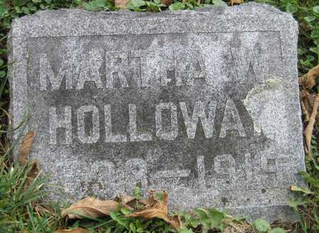 HOLLOWAY, MARTHA W. - Linn County, Iowa | MARTHA W. HOLLOWAY