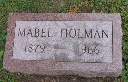 HOLMAN, MABEL - Linn County, Iowa | MABEL HOLMAN