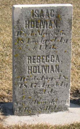HOLMAN, REBECCA - Linn County, Iowa | REBECCA HOLMAN