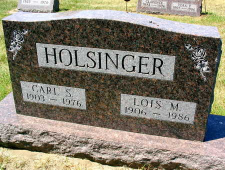 HOLSINGER, CARL S. - Linn County, Iowa | CARL S. HOLSINGER