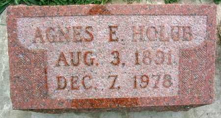 HOLUB, AGNES F. - Linn County, Iowa | AGNES F. HOLUB