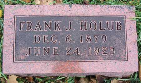 HOLUB, FRANK J. - Linn County, Iowa   FRANK J. HOLUB