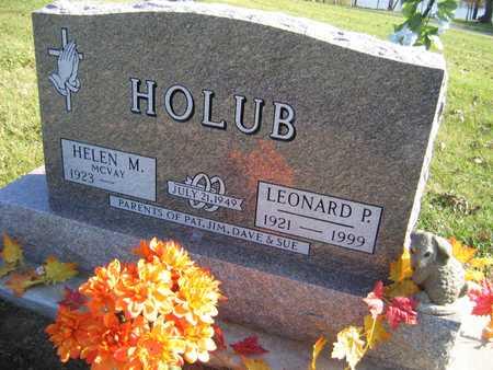 HOLUB, LEONARD P. - Linn County, Iowa | LEONARD P. HOLUB