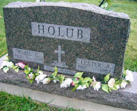 HOLUB, LESTER A. - Linn County, Iowa | LESTER A. HOLUB